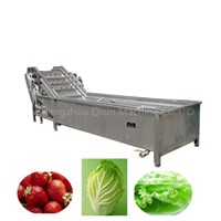 Leafy Vegetable Washing Machine Cleaning Salad Veggie Cleaner Fruit Processing Equipment Potato Washer Line Price