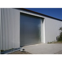 Insulated Rolling Shutter Garage Door with Remote Control
