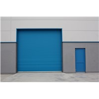 Metal or Aluminum Alloy Industrial Motorized Automatic Overhead Roller Shutter Warehouse Garage Door