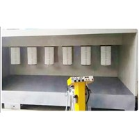 High Quality Hot-Sale Powder Coating Booth for Metal Parts