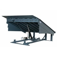 Stationary Fixed Warehouse Hydraulic Truck Container Adjustable Loading & Unloading Dock Ramp