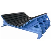 Fire Resistant Buffer Bed with Impact Bars for Conveyor