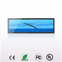 38.5 Inch Ultra Wide LCD Advertising Screen Bar for Display on Airport & Shopping Mall