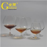 Personalised Etched Logo Brandy Snifter Glasses Set