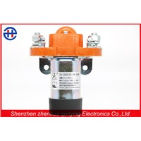 200a Single Coil Normally Close Single Pole Electromagnetic DC Contactor Control Electric Motor