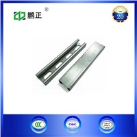 Hot Dip Galvanized 41*41*2.5mm Slotted C Strut Channel