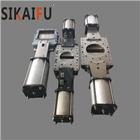 Factory Supply Paper Making Industry Using Pneumatic Double Plate Knife Gate Valve