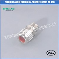 Metal Increased-Safety Unarmored Cable Gland IP68 Exe