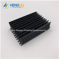 Bellow Cover M2.072.023/02 Black Bellows for Heidelberg CD74 SM74 Printing Machine Length=75mm L2.072.324