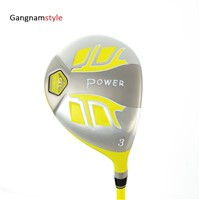 Gangnamstyle Junior Complete Golf Clubs Set with Golf Bag & Headcover for Teensr 9-13 Years Old (141-164cm, 9 Pieces)