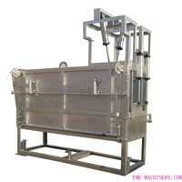 Living Cattle Pneumatic Fixed Killing Box Halal Slaughtering Machine