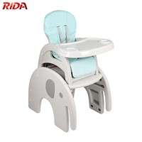 Multidunctional Detachable Baby High Chair Table Chair