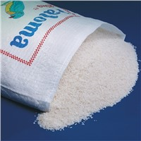 Polypropylene 50kg Rice PP Woven Bag Single Folded Single Sewed