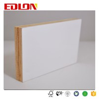 16mm HPL Plywood, Fire Resistant Plywood for Furniture. High Glossy Plywood. Melamine Plywood. Snow White HPL Plywood