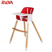 Portable Baby Wooden High Chair from China
