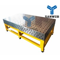 Heavy Duty 3D Steel/ Cast Welding Table Fixturing Table