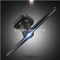 3D Holographic Display Fan LED Hologram Projector Advertising Display LED Fan Imaging FRD-QX1