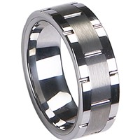 Tungsten Carbide Wedding Band Ring