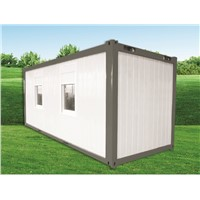 Vivienda Prefabricada Prefab. House 20F Flat Pack Container House for Living Room Office & Multi Funcition Buildings