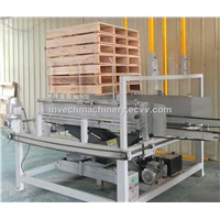 Automatic Wood Pallet Stacking Machine