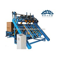One Man Stringer Wood Pallet Nailer & Stacker Machine for Sale