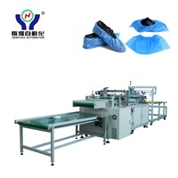 Automatic Disposable Dust-Proof Shoe Cover Making Machine