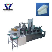 Disposable Nonwoven Headrest Cover Making Machine