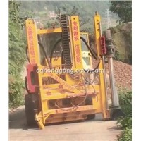 Highway Guardrail Pile Driver, Hydraulic Pile Driver, Roadway Safty Barriers Installation Machine