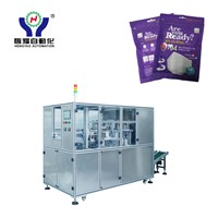 Automated 2D Foldable Respiratory Mask Packaging Machine