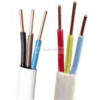 BVVB Solid Copper Conductor PVC Sheathed Multi-Cores Flat Cables