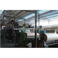 Daily Production of 10 Tons of the Type 1575 Corrugated Paper Machine, Kraft Paper Machine
