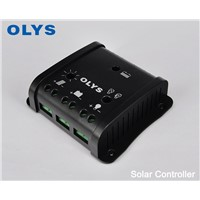 Solar Controller, 10A Intelligent Solar Rechargeable Controller