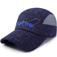Custom Running Cap Outdoor Quick Dry Sport Cap Soft Fabric & Mesh Breathable Baseball Cap Hat
