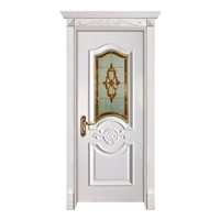 Low Price WPC Wood Plastic Composite Door