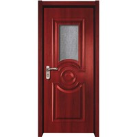 Modern Latest Plastic Interior Frosted Glass Bathroom Door