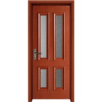 Door Leaf Waterproof Eco-Friendly Israel WPC Door