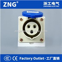 Industrial Socket 16A3P IP44 Splashproof