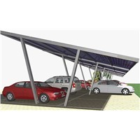 Good Quality Waterproof Aluminum PV Carport System Solar Carport