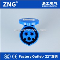 Industrial Connector 32A 2P+PE, 220V Industrial Socket Portable