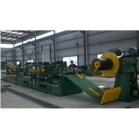 Servo Motor Steel Cut To Length Line Machine
