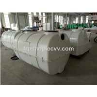 0.5m3-100m3 FRP SMC Septic Tank for Toilet Wastewater Treatment