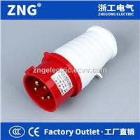 Industrial Plug 32A5P IP44 Splashproof