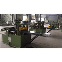 Servo Motor Shearing Straight Cutter Cut To Length Line