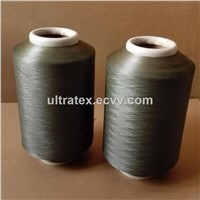 Copper Plated CuS Nylon 6 DTY Conductive Filaments 70D/24F for Anti Bacteria Socks/Beddings XT11148