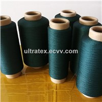 Copper Plated CuS Acrylic Conductive Filaments 150D/60F or 150D/80F Yarn for Anti Bacteria Socks/Beddings XT11322