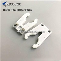 ISO30 Toolholder Forks ATC Tool Grippers For Woodworking CNC Routers