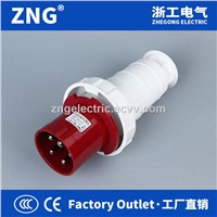 Industrial Plug 63A 3P+N+PE IP67 Waterproof