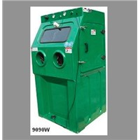 Wet Blasting Cabinet for Surface Cleaning