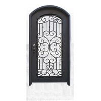 2. Chinese Factory Fabricated Iron Door EBD002A, Security Steel Door, Customize Metal Doors, Iron Entry Doors, Entrance