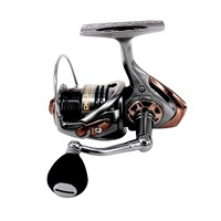 DEUKIO Fishing Reel High-Speed 5+1BB 7.1:1 Metal Shallow Deep Spool EVA Handle Saltwater Carp Fishing Wheel HS3000